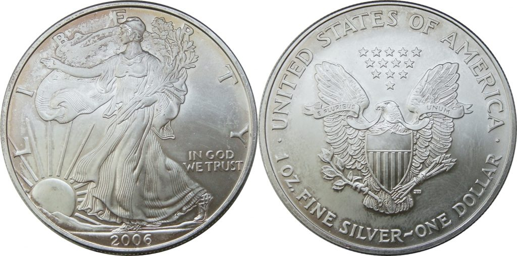 2006 Silver Eagle Value