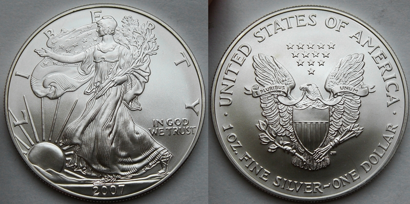 2007 Silver Eagle Value