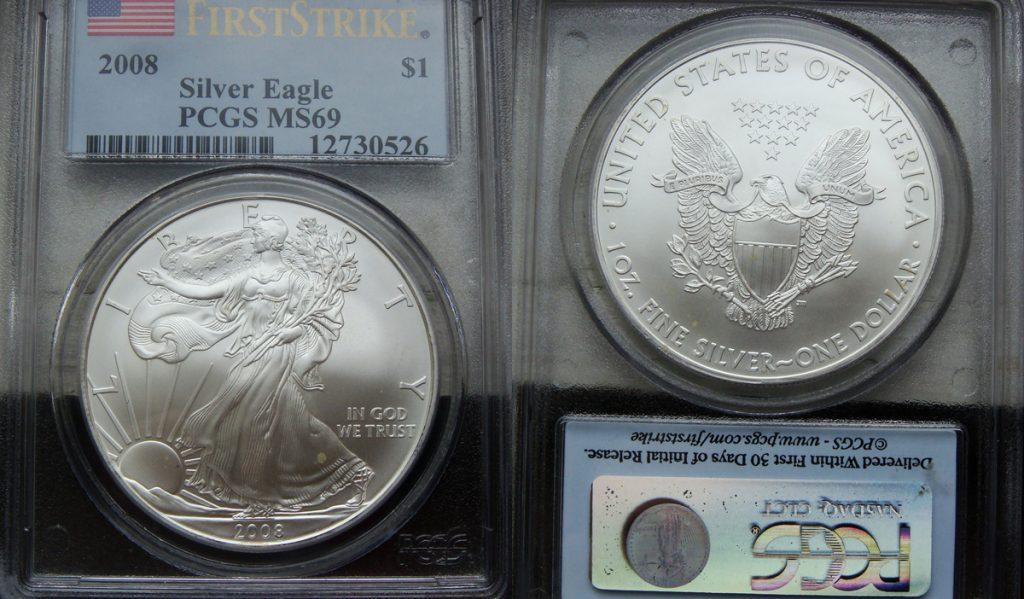 2008 Silver Eagle Value