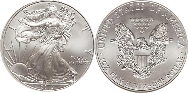 2010 Silver Eagle Value