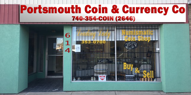 Incorporated and Our Sign For Portsmouth Coins & Currency Co