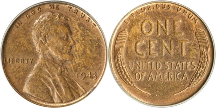 1943 Copper Cent Value