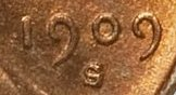 1909 S/S Lincoln Cent Wheat Penny Value