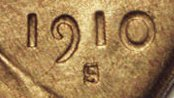 1910 S/S Lincoln Cent Wheat Penny Value