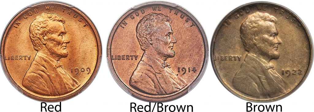 Red Red Brown Lincoln Cent