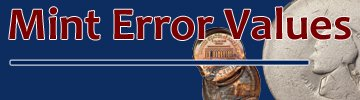 mint error values rare mint error
