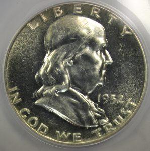 Franklin Half Dollar Proof Circulated