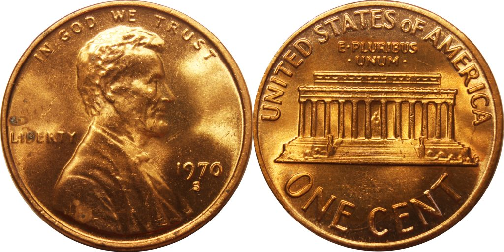 1970 S Small Date Lincoln Cent Penny Value Coinhelp