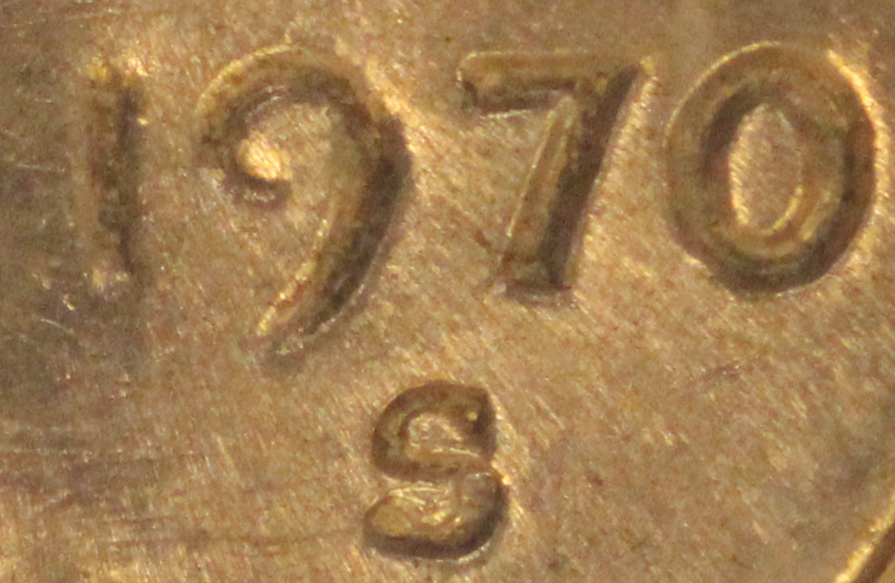1970 s small date lincoln cent penny value