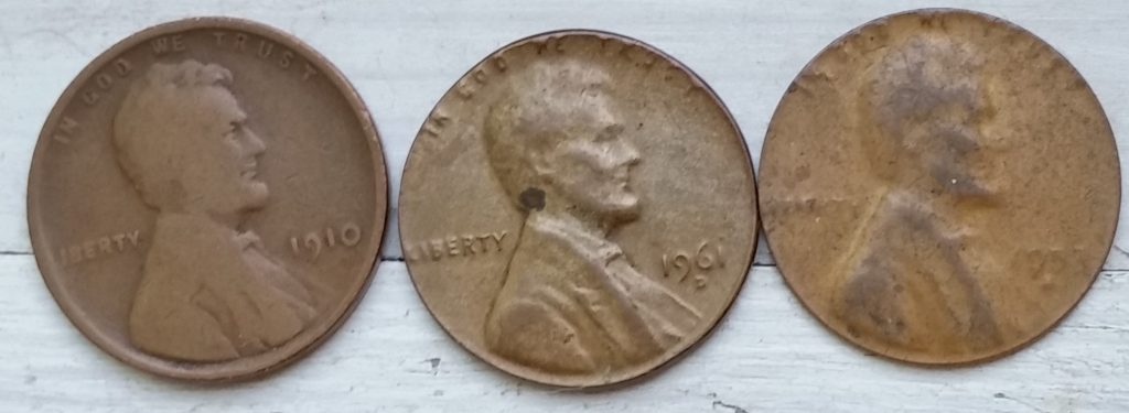 Thin as a dime penny
