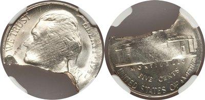 Defective Planchet Mint Error