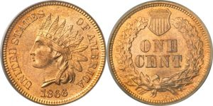 1866 Indian Head Cent Penny Value