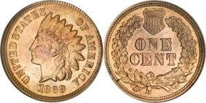 1869/69 Indian Head Cent Penny Value