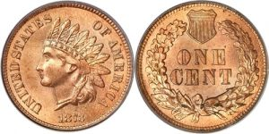 1873 Doubled Die Indian Head Cent Penny Value Closed 3 Coin Helpu