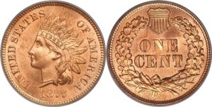 1877 Indian Head Cent Penny Value