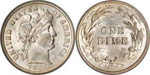 Barber Dime Value