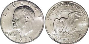 Eisenhower Dollar Value Ike Dollar Value