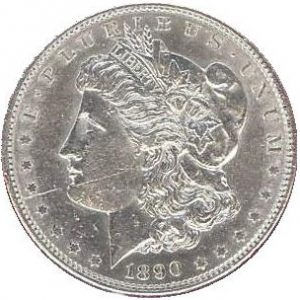 Cleaned Morgan Dollar