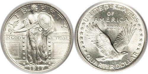 Standing Quarter Value