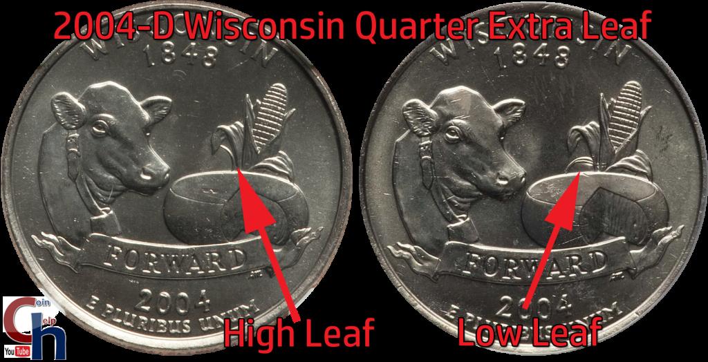 2004-D Wisconsin State Quarter Extra Leaf Value