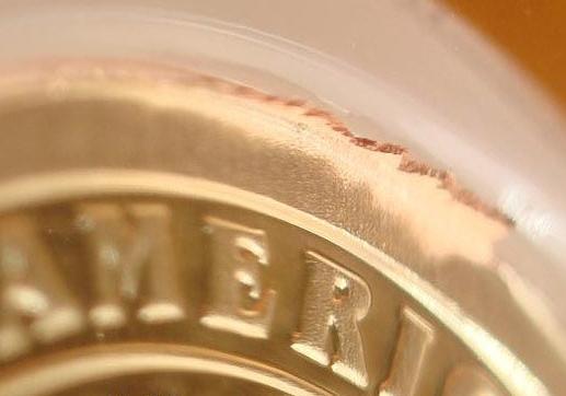 Extra Metal Mint Error