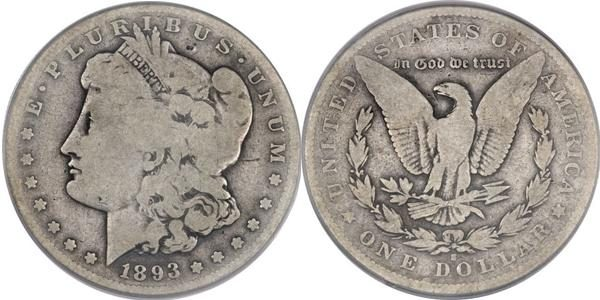 Morgan Dollar Value G4