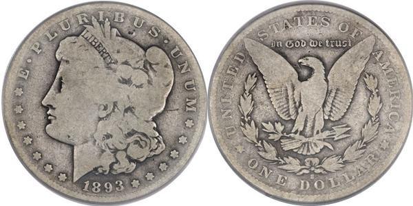 Morgan Dollar Value G4