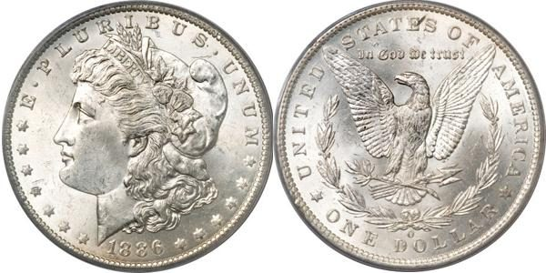 MS63 Grade Morgan Dollar Value