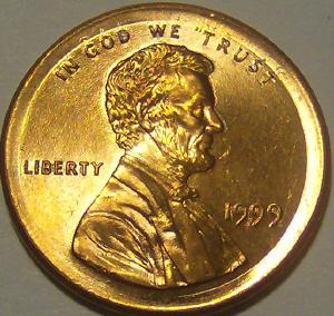 Broad struck mint error