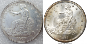 Trade Dollar Counterfeit