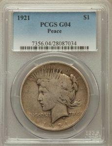 Good G4 Peace Dollar value