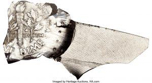Sacagawea feeder finger scrape mint error