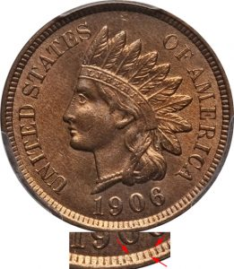 Misplaced Date Indian Head Cent