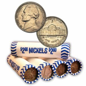 How Many Nickels In A Roll Coin Roll Melt Value Coin Helpu