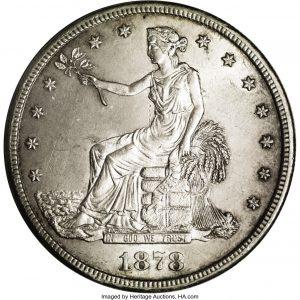 trade dollar countefeit