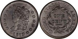 Classic head large cent value
