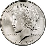 Counterfeit Peace Dollar