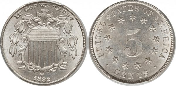 Shield 5 Cent Nickel Value