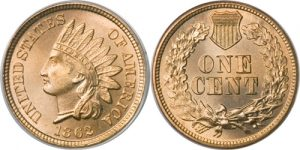 1862 Indian Head Cent Value