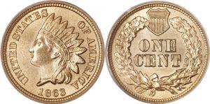 1863 Indian Cent Value