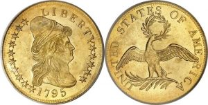 Capped Bust $10 Gold Coin Value, Right, 1795 To 1804