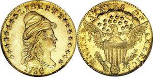$2.50 Gold Coin Capped Bust (Turbin Head) Value