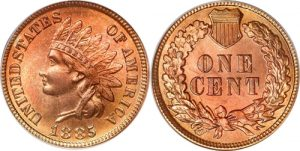 1885 Indian Head Cent Penny Value