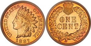 1887 Indian Head Cent Penny Value