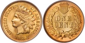 1888 Indian Head Cent Penny Value