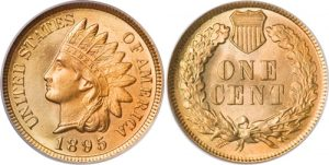 1895 Indian Head Cent Penny Value