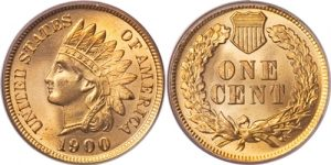 1900 Indian Head Cent Penny Value