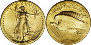 $20 Saint Gaudins Gold Coin Value