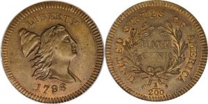 1796 Edwards Copy Half Cent